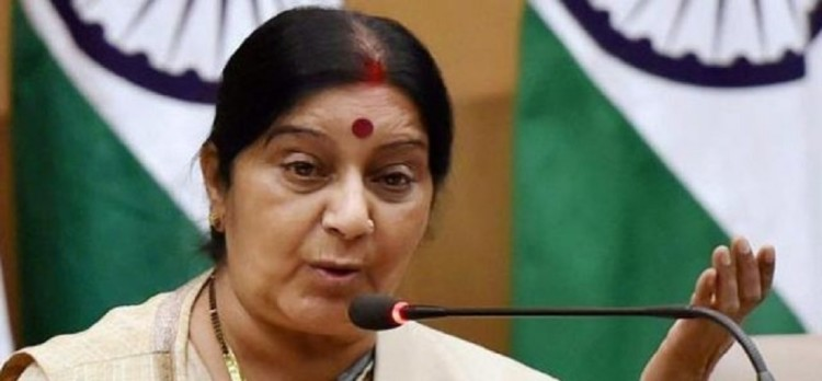 Sushma Swaraj to issue joint statement along with with Russia and china against Palkistan
