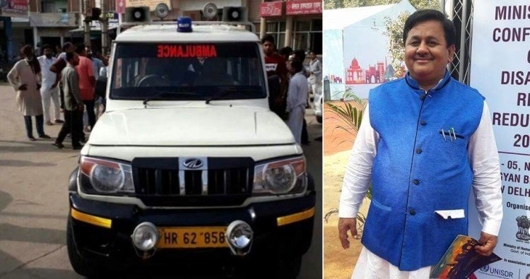 BJP Leader Darshan Nagpal Accused Of Stalling Ambulance, Causing Death