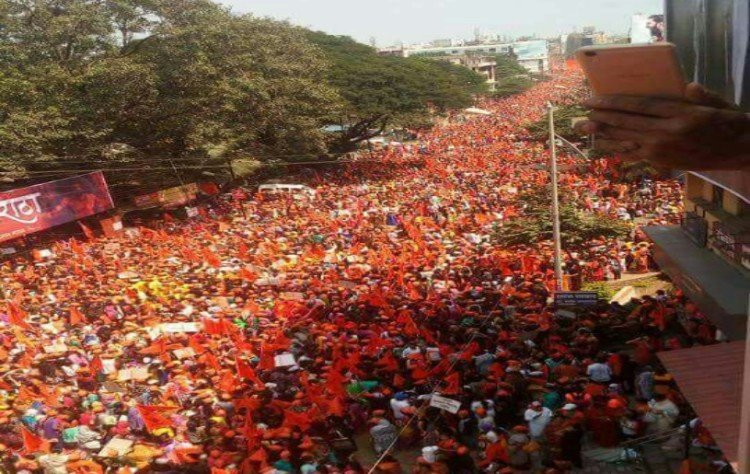 in pictures maratha kranti morcha rally protest
