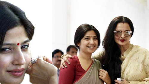 dimple yadav with bollywood actress