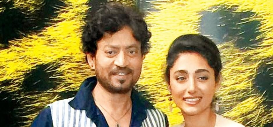 Irrfan Khan promotes The Song Of The Scorpions in Switzerland with Iranian actress