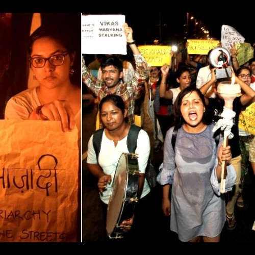 'Bekhauf Azadi March' to protest against Chandigarh stalking case