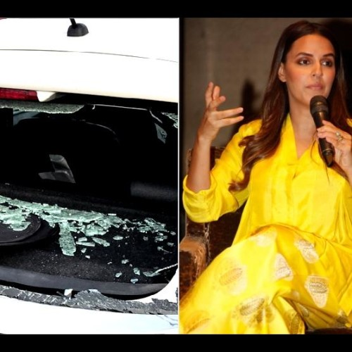 Neha Dhupia Met With An Accident In Chandigarh