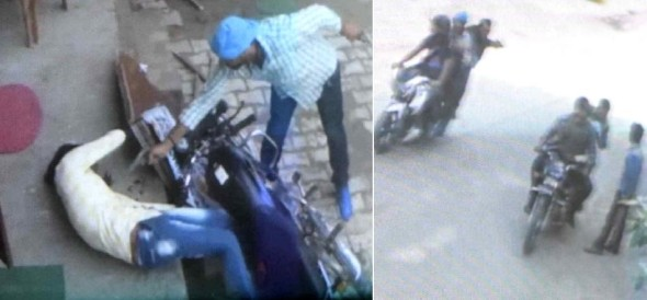 Youth shot dead in Rohtak, CCTV captures the murder