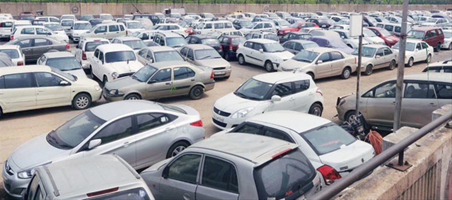 chandigarh tarffic ssp notice of instructions for parking problem in festival season