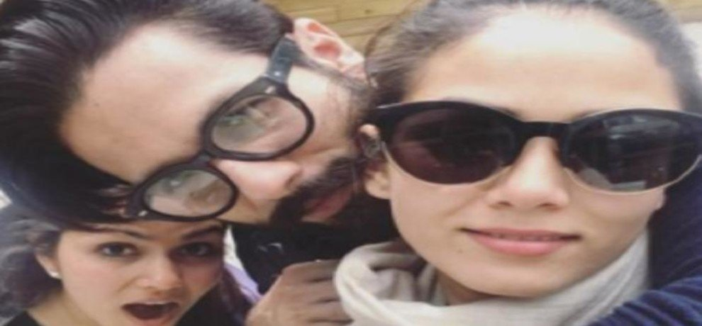 Shahid Kapoor and Mira Rajput shared first picture of vacation misha goes missing