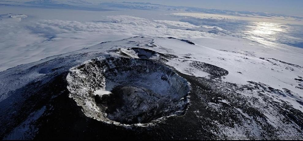 volcanic region on Earth discovered under Antarctica