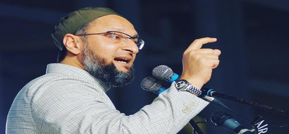 Asaduddin Owaisi says no organisation can give away mosques slaming on Shia Waqf Board