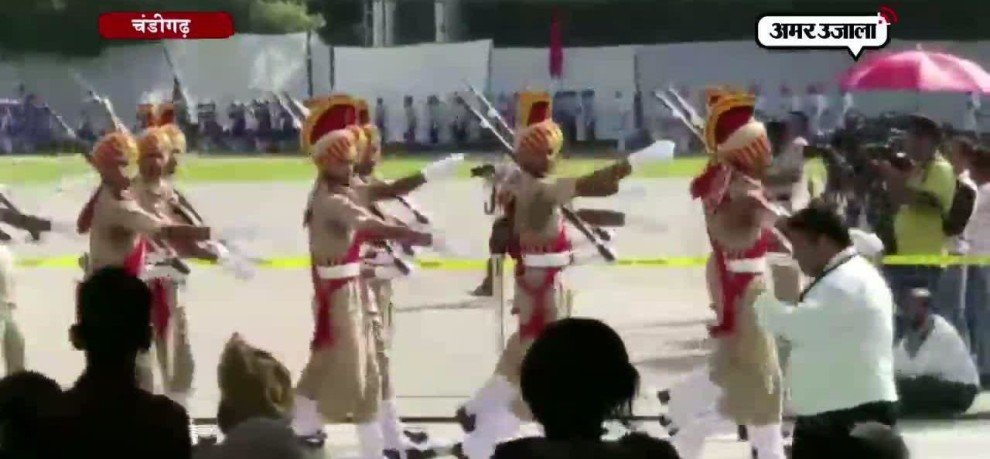 Independence Day parade in Chandigarh