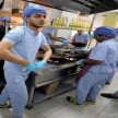 Egyptian operating room themed restaurant where doctors become chefs
