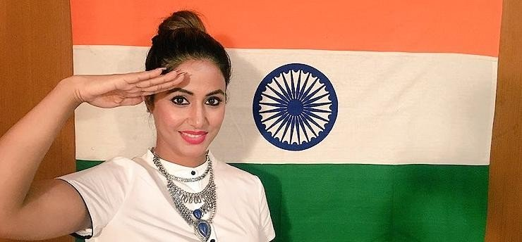 Hina Khan croons Vande Mataram video goes viral on social media
