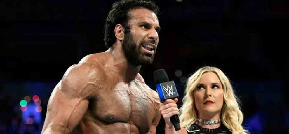 jinder mahal delivers message in hindi to his fans