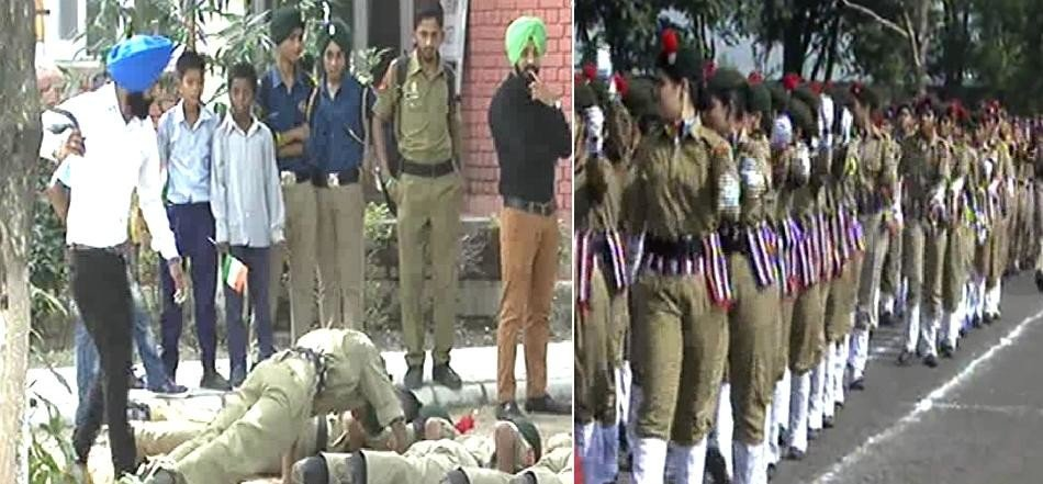 NCC cadet beaten by belt after parade