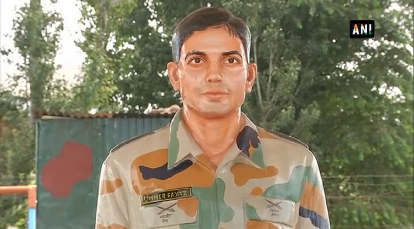 Army Goodwill School Behibagh Kulgam and renamed it as Shaheed Lt. Ummer Fayaz Goodwill School