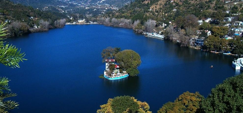 mystery of bhimtal lake island full of sea fish uttarakhand
