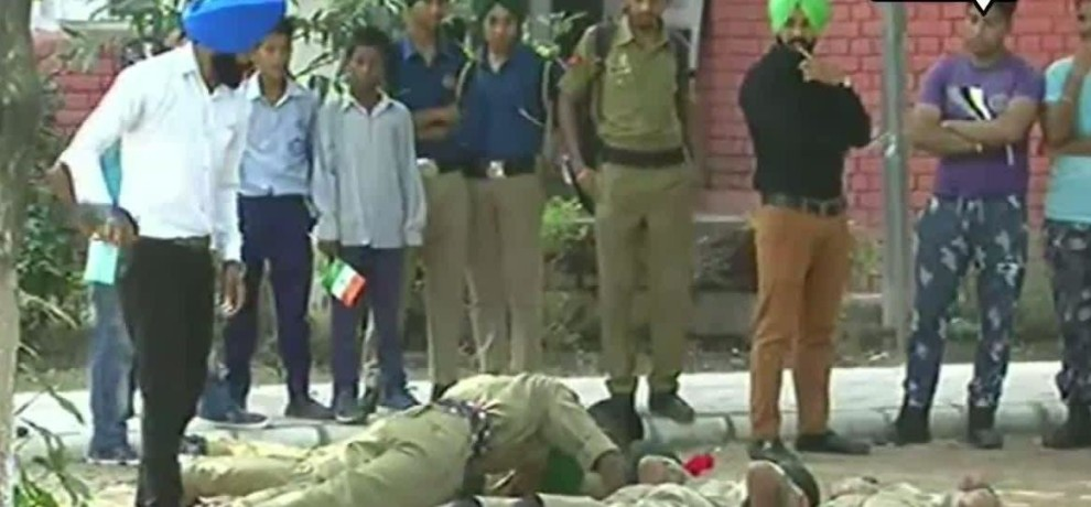 ncc cadets beaten by their instructor in government college chandigarh