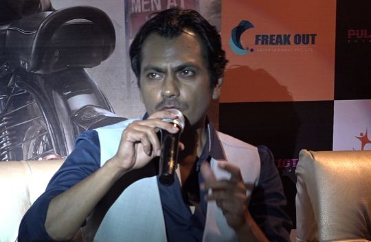 BOLLYWOOD FILM ACTOR NAWAZUDDIN SIDDIQUI REACTION ON HIS UPCOMING FILM BABUMOSHAI BANDOOKBAAZ