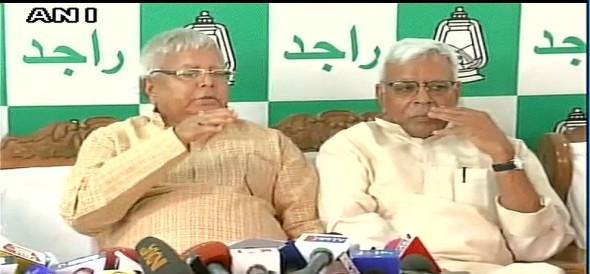 Shivanand Tiwari appointed as national Vice President of RJD says Lalu