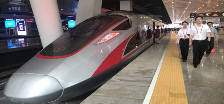 China begins to build airport transit rail, speed 160 km per hour