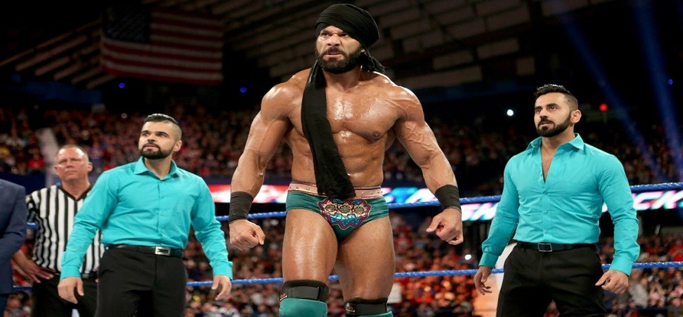 WWE: biggest match in Indian History between Triple H and jinder mahal
