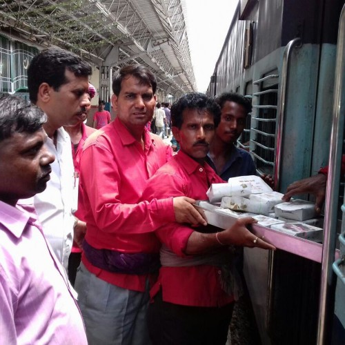 passengers told about rail accident in auraiya after reaching tundla