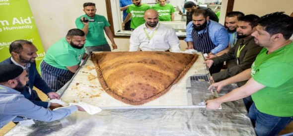 Samosa made world record in london