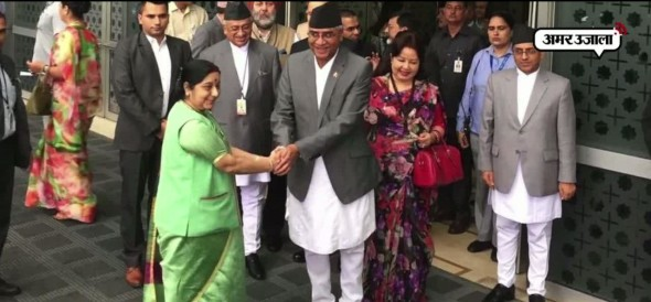 Nepal prime minister sher bahadur deuba reaches india tour china keeps eyes on visit