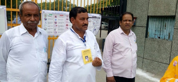 delhi bawana assembly seat by election voting live updates