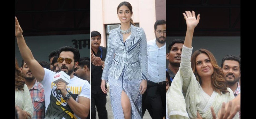 Photos of Imran Hashmi program in Lucknow