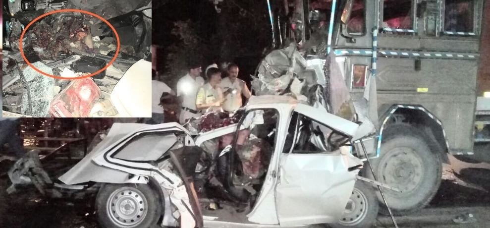 Himachal Sirmour Paonta five died in road accident