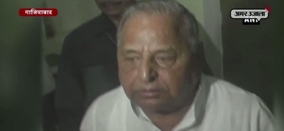mulayam singh strongly opposes coalition, and also warn akhilesh on alliance with any one