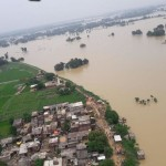 flood becomes disaster in Uttar Pradesh.