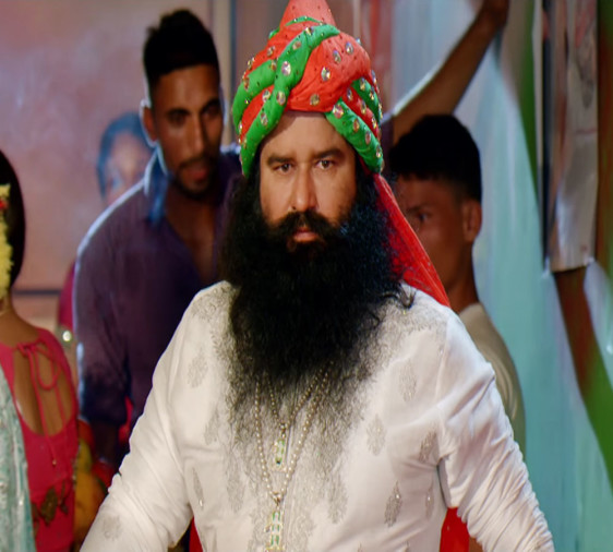Gurmeet Ram Rahim Singh Insan Of Dera Sacha Sauda Is A One Man Army Of Film Industry