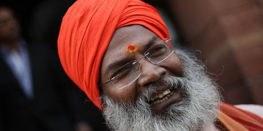 sakshi maharaj comes with support of ram rahim
