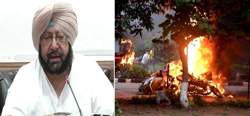 Punjab CM captain amarinder singh on Panchkula Incident