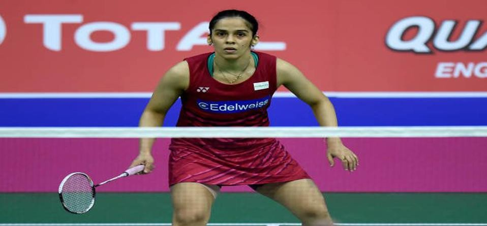 saina nehwal through to Round 2 beating Beiwen Zhang