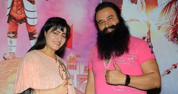 ram rahim senetnced, honeypreet insan was seen in dera sacha sauda
