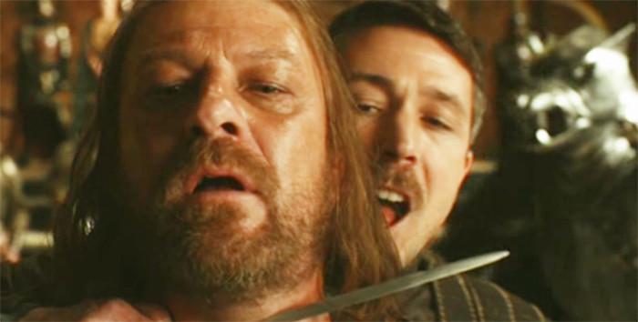 game of thrones famous character Little finger dies