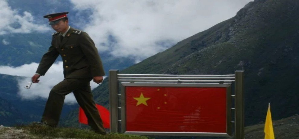 China is upgrading its existing motorable road in the Bhutanese territory of Doklam