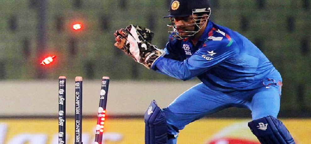 dhoni the man who takes 100 stumping in odi