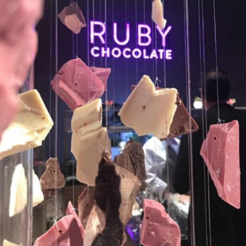 Barry Callebaut unveils fourth flavor of pink chocolate