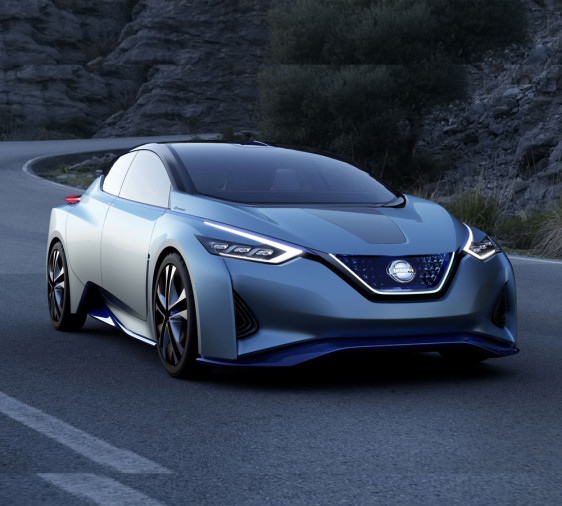 New generation Nissan Leaf