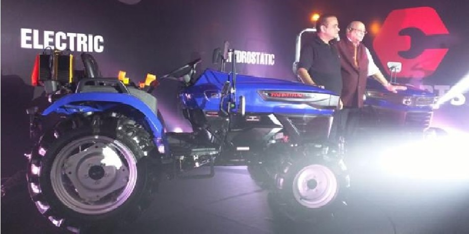 Escorts launch India first electric tractor concept with New Tractor Series In India