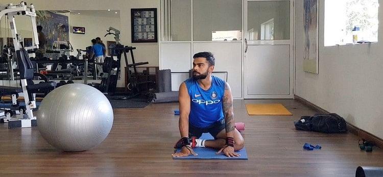 WWE star finn balor want to learn cricket from Virat Kohli
