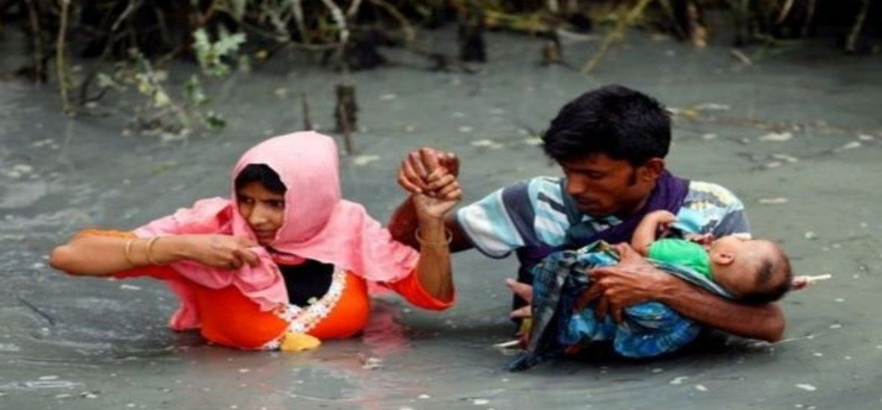 14 Rohingya women and children die due to boat reversal