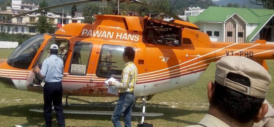 GST injury to helicopter rental