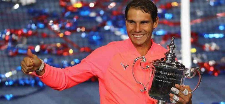 rafael nadal wins us open for the third time beating kevin anderson in final