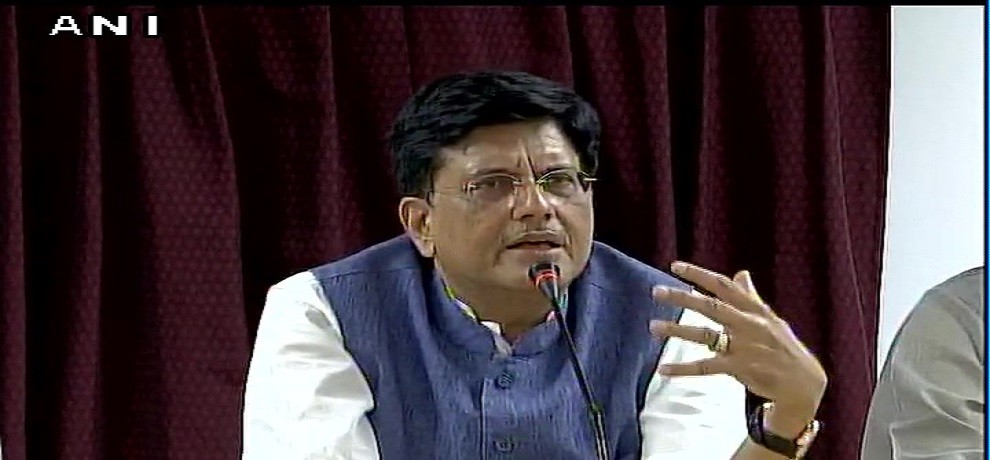 Railway can create a million jobs within a year says rail minister piyush goyal
