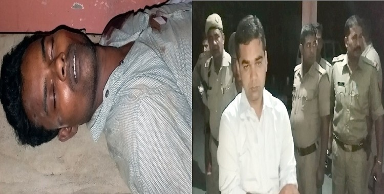 Encounter : 12 thousand prize accused kill, police, four accused absconding