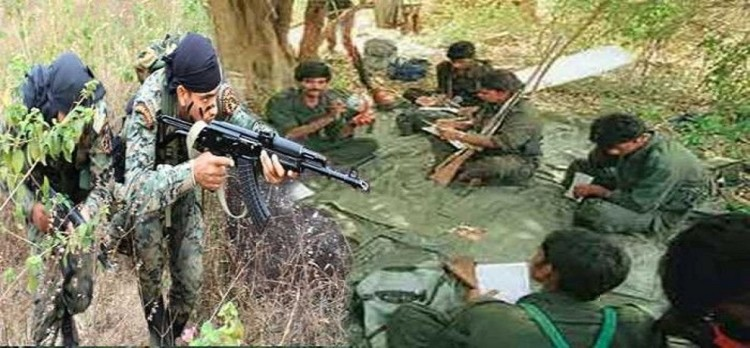 Chhattisgarh: 3 Naxalite killed in STF Trooper Encounter, explosive material Seizure